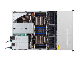 1HE Intel Dual-CPU RI2108+ Server - Innenansicht