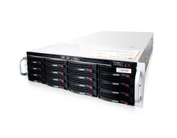 3HE Intel Single-CPU RI1316 Server - Serveransicht