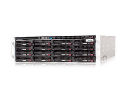3HE AMD Dual-CPU RA2316 Server - Frontansicht