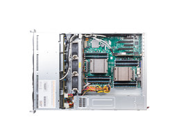 2HE Intel Dual-CPU RI2208 Server - Innenansicht